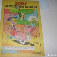 Tebeos: PIPA ¡ COMIC DEL DIARIO 21,DE 25,DIARIO DE VALENCIA,AÑO 1981.. Lote 287761243