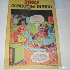 Livros de Banda Desenhada: PIPA ¡ COMIC DEL DIARIO 18,DE 25,DIARIO DE VALENCIA,AÑO 1981.. Lote 287761828