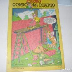Tebeos: PIPA ¡ COMIC DEL DIARIO 14,DE 25,DIARIO DE VALENCIA,AÑO 1981.. Lote 287762448