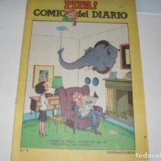 Livros de Banda Desenhada: PIPA ¡ COMIC DEL DIARIO 8,DE 25,DIARIO DE VALENCIA,AÑO 1981.. Lote 287763918