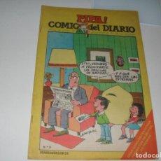 Tebeos: PIPA ¡ COMIC DEL DIARIO 3,DE 25,DIARIO DE VALENCIA,AÑO 1981.. Lote 287764518