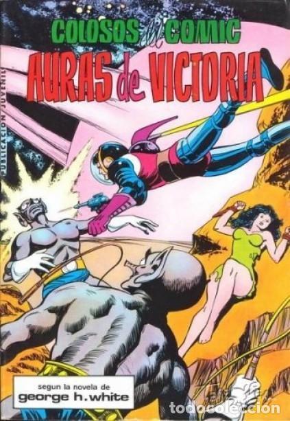 MIGUEL ÁNGEL AZNAR- Nº 9 -COLOSOS DEL CÓMIC-AURAS DE VICTORIA-1979-GRAN MATÍAS ALONSO-CORRECTO-5527 (Tebeos y Comics - Valenciana - Colosos del Comic)