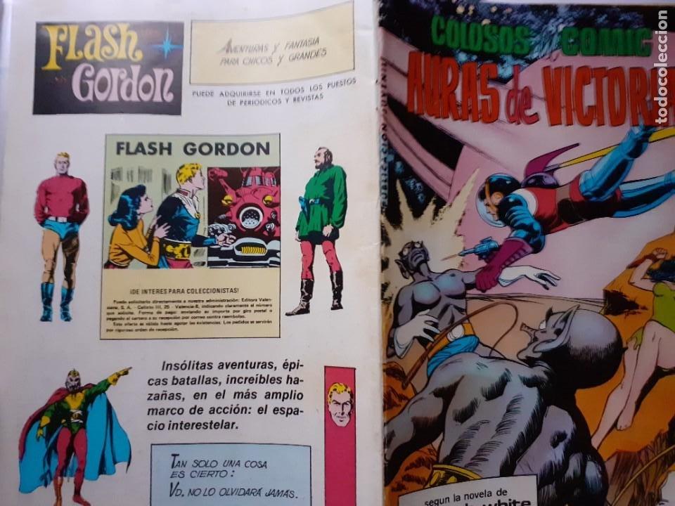 Tebeos: MIGUEL ÁNGEL AZNAR- Nº 9 -COLOSOS DEL CÓMIC-AURAS DE VICTORIA-1979-GRAN MATÍAS ALONSO-CORRECTO-5527 - Foto 3 - 287774628