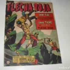 Tebeos: FLECHA ROJA 12.CON SUPLEMENTO SAHIB TIGRE.EDITORIAL MAGA. Lote 287781088