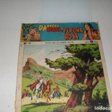 Tebeos: PANTERA NEGRA Y FLECHA ROJA 84.EDITORIAL MAGA,AÑOS 60.. Lote 287781663