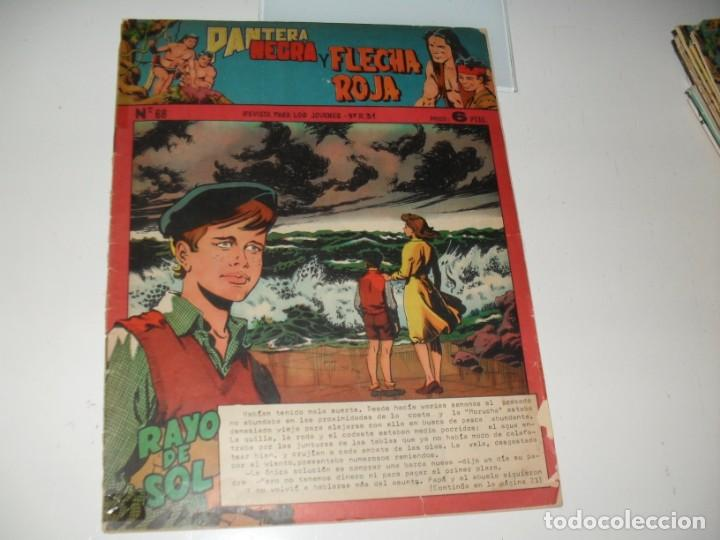 PANTERA NEGRA Y FLECHA ROJA 68.EDITORIAL MAGA,AÑOS 60. (Tebeos y Comics - Valenciana - Otros)