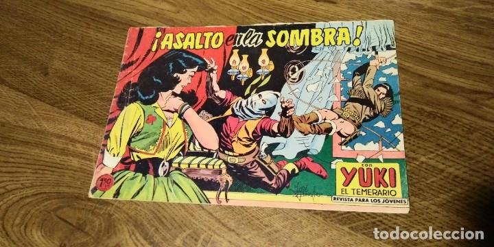 Tebeos: LOTE 4 EJEMPLARES YUKI EL TEMERARIO. Nºs 45,69,70 y 79. VALENCIANA. ORIGINAL. - Foto 8 - 287941793