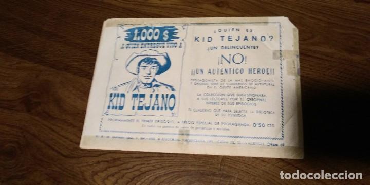 Tebeos: LOTE 4 EJEMPLARES YUKI EL TEMERARIO. Nºs 45,69,70 y 79. VALENCIANA. ORIGINAL. - Foto 13 - 287941793