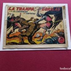 Tebeos: EL GUERRERO DEL ANTIFAZ Nº 112 -ORIGINAL. Lote 288010413