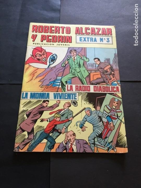 COMIC ROBERTO ALCAZAR Y PEDRIN - EXTRA, N° 3 - EL DE LAS FOTOS VER TODOS MIS COMICS Y TEBEOS (Tebeos y Comics - Valenciana - Roberto Alcázar y Pedrín)