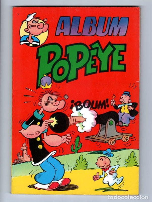 ALBUM POPEYE - TOMO 7 - EDITORA VALENCIANA - 1980 (Tebeos y Comics - Valenciana - Otros)