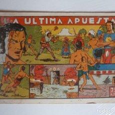 Tebeos: SELECCION AVENTURERA Nº 14 LA ÚLTIMA APUESTA, VALENCIANA, 1941, ORIGINAL. Lote 288176728