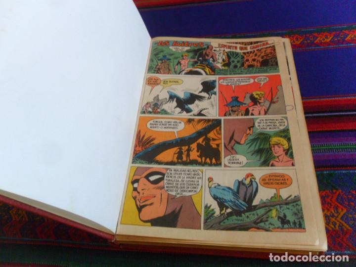 COLOSOS DEL CÓMIC EL HOMBRE ENMASCARADO NºS 1 2 3 4 5 6 7 8 9 10. VALENCIANA 1980. (Tebeos y Comics - Valenciana - Colosos del Comic)