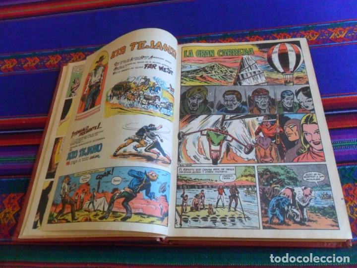 Tebeos: COLOSOS DEL CÓMIC EL HOMBRE ENMASCARADO NºS 1 2 3 4 5 6 7 8 9 10. VALENCIANA 1980. - Foto 2 - 288204313