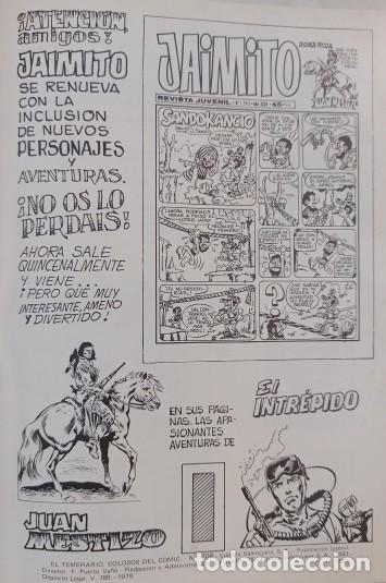 Tebeos: EL TEMERARIO COLOSOS DEL COMIC - COLECCION COMPLETA 10 NUMEROS - EXCELENTE ESTADO. - Foto 5 - 288314883