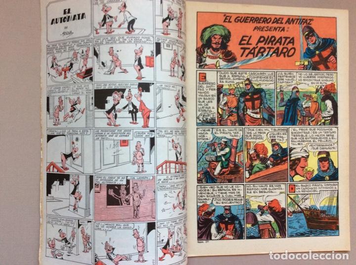 Tebeos: EL GUERRERO DEL ANTIFAZ Serie INÉDITA NUMERO 27 - Foto 2 - 288316318