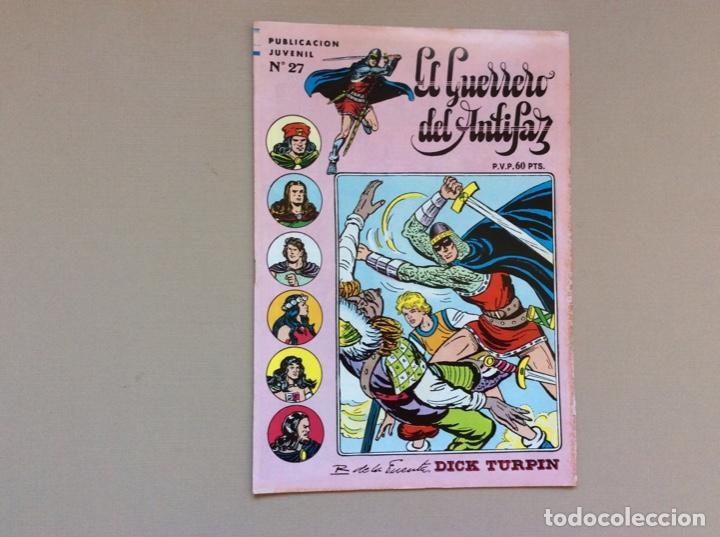 EL GUERRERO DEL ANTIFAZ SERIE INÉDITA NUMERO 27 (Tebeos y Comics - Valenciana - Guerrero del Antifaz)