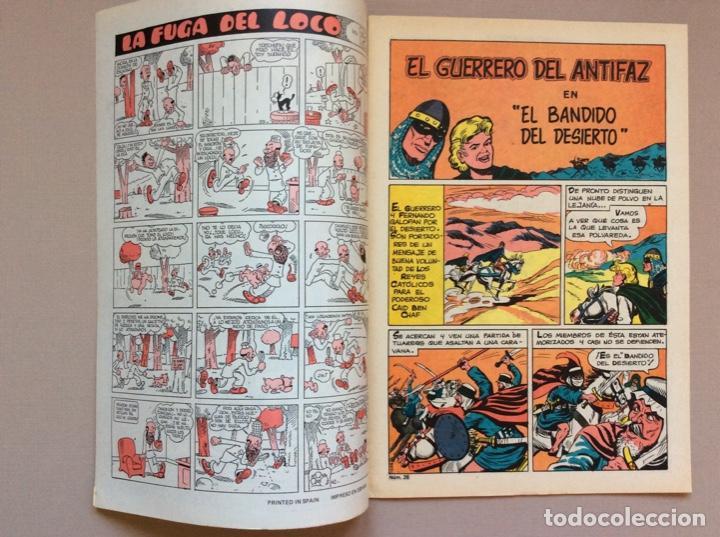 Tebeos: EL GUERRERO DEL ANTIFAZ Serie INÉDITA NUMERO 28 - Foto 2 - 288317058