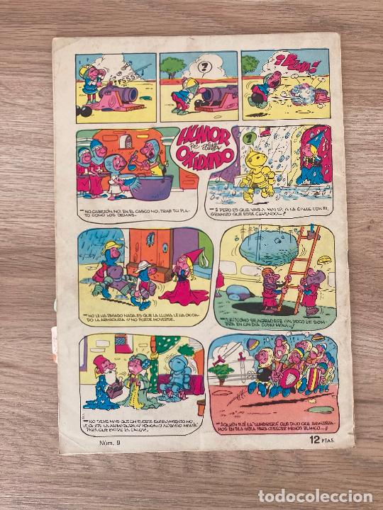 Tebeos: EL GUERRERO DEL ANTIFAZ Nº 9. EDITORIAL 1973 - Foto 2 - 288366218