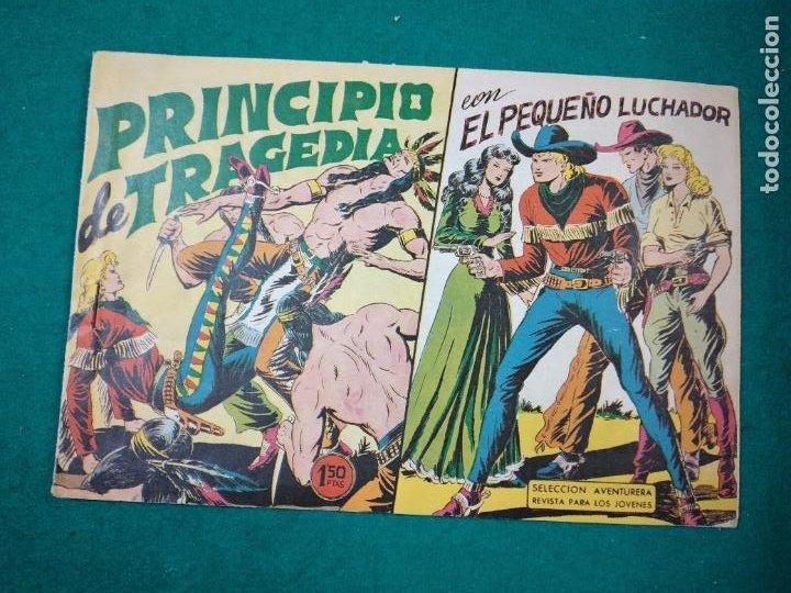 EL PEQUEÑO LUCHADOR Nº 52. PRINCIPIO DE TRAGEDIA. EDITORIAL VALENCIANA 1961. (Tebeos y Comics - Valenciana - Pequeño Luchador)