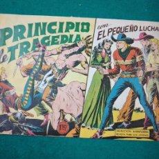 Tebeos: EL PEQUEÑO LUCHADOR Nº 52. PRINCIPIO DE TRAGEDIA. EDITORIAL VALENCIANA 1961.. Lote 288485473
