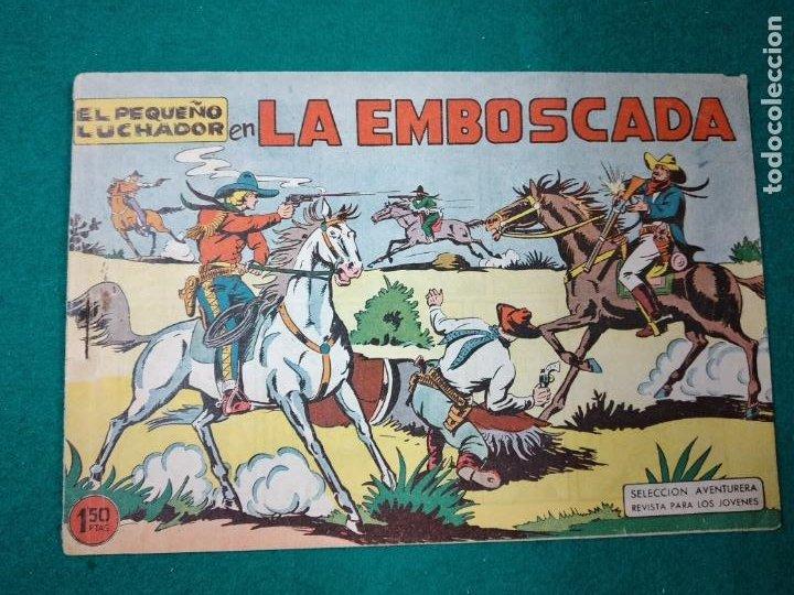 EL PEQUEÑO LUCHADOR Nº 10. LA EMBOSCADA. EDITORIAL VALENCIANA 1960. (Tebeos y Comics - Valenciana - Pequeño Luchador)
