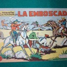 Tebeos: EL PEQUEÑO LUCHADOR Nº 10. LA EMBOSCADA. EDITORIAL VALENCIANA 1960.. Lote 288485673