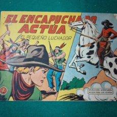 Tebeos: EL PEQUEÑO LUCHADOR Nº 103. EL ENCAPUCHADO ACTUA. EDITORIAL VALENCIANA 1960.. Lote 288485723