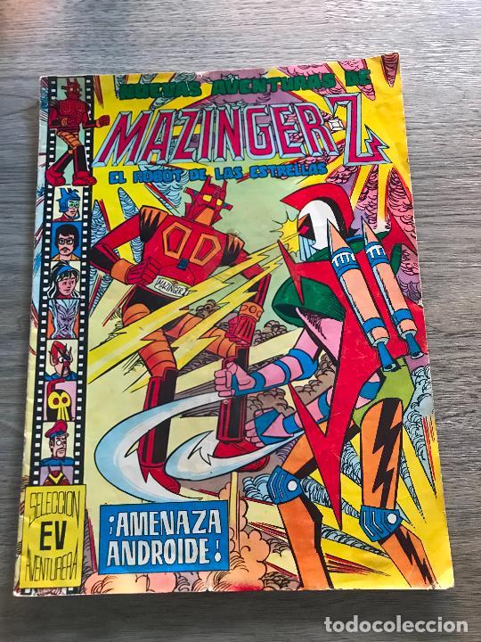 NUEVAS AVENTURAS DE MAZINGER-Z Nº 18, SELECCIÓN AVENTURERA, EDITORIAL VALENCIANA (Tebeos y Comics - Valenciana - Selección Aventurera)