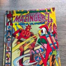 BDs: NUEVAS AVENTURAS DE MAZINGER-Z Nº 18, SELECCIÓN AVENTURERA, EDITORIAL VALENCIANA. Lote 288506133