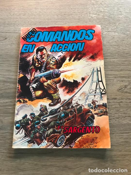 NUEVO COMANDOS EN ACCIÓN Nº 3 , EDITORIAL VALENCIANA (Tebeos y Comics - Valenciana - Otros)