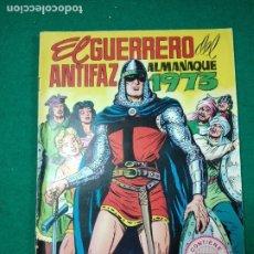 Tebeos: EL GUERRERO DEL ANTIFAZ. ALMANAQUE 1973 CON POSTER A TODO COLOR. EDITORA VALENCIANA. EDIVAL.. Lote 288606748