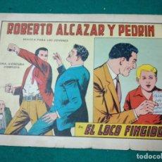 Tebeos: ROBERTO ALCAZAR Y PEDRIN Nº 713. EL LOCO FINGIDO. EDITORA VALENCIANA 1965.. Lote 288613408