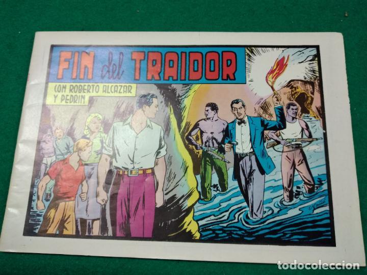 ROBERTO ALCAZAR Y PEDRIN Nº 114. FIN DEL TRAIDOR.. EDITORA VALENCIANA 1983.. (Tebeos y Comics - Valenciana - Roberto Alcázar y Pedrín)
