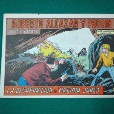 Tebeos: ROBERTO ALCAZAR Y PEDRIN Nº 1166. LA DESAPARICION DE VIRGINIA JARED. EDITORA VALENCIANA 1975. Lote 288613983