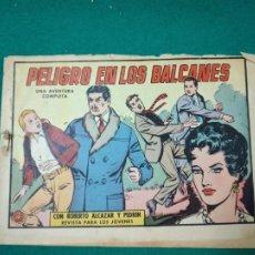 Tebeos: ROBERTO ALCAZAR Y PEDRIN Nº 526.PELIGRO EN LOS BALCANES. EDITORA VALENCIANA 1962. Lote 288614223