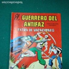 Tebeos: EL GUERRERO DEL ANTIFAZ EXTRA DE VACACIONES. EDITORA VALENCIANA 1977.. Lote 288616023