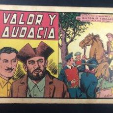 Tebeos: COMIC ORIGINAL MILTON EL CORSARIO Nº 32 EDITORIAL VALENCIANA. Lote 288633323