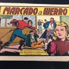 Tebeos: COMIC ORIGINAL MILTON EL CORSARIO Nº 73 EDITORIAL VALENCIANA. Lote 288634408