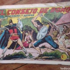 Tebeos: EL CONSEJO DE ROMO CON EL GUERRERO DEL ANTIFAZ 286. Lote 288648453