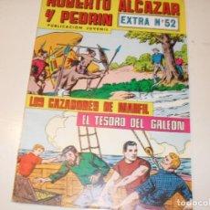 Giornalini: ROBERTO ALCAZAR Y PEDRIN EXTRA 52,ULTIMOS NUMEROS.EDITORIAL VALENCIANA,AÑO 1976.. Lote 288986163
