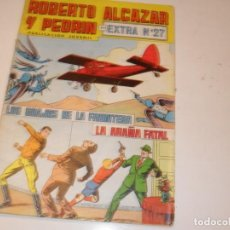 Giornalini: ROBERTO ALCAZAR Y PEDRIN EXTRA 27,.EDITORIAL VALENCIANA,AÑO 1976.. Lote 289197873