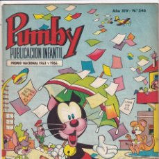 Tebeos: PUMBY : NUMERO 546 FUNCION DE DESPEDIDA , EDITORIAL VALENCIANA. Lote 289286203