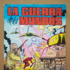Tebeos: LA GUERRA DE LOS MUNDOS N°2: EL ATAQUE INESPERADO (VALENCIANA, 1979). PORTADA DE KARPA.. Lote 289293268