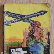 Tebeos: TIERRA PROHIBIDA POR GEORGE H. WHITE COLECCIÓN COMANDOS EDITORIAL VALENCIANA PULP BOLSILIBRO. Lote 289302093