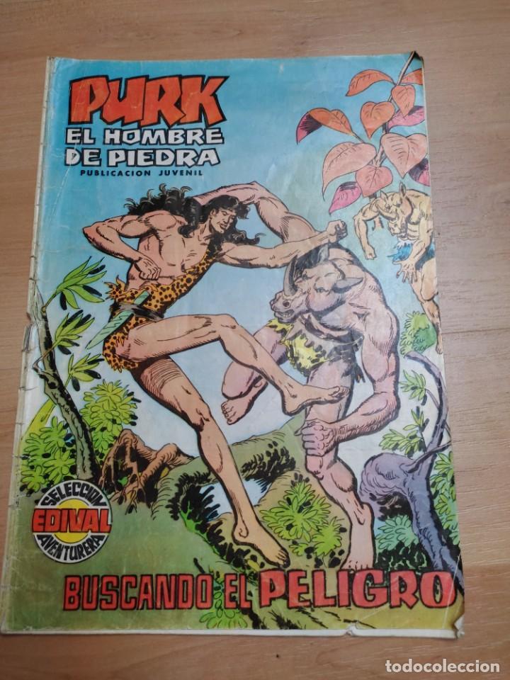 COMIC PURK EL HOMBRE DE PIEDRA Nº 21 EDIVAL 1974 (Tebeos y Comics - Valenciana - Purk, el Hombre de Piedra)