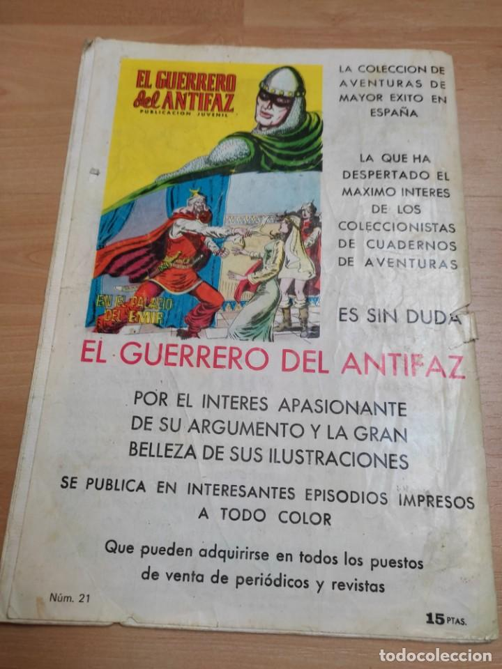 Tebeos: Comic PURK el Hombre de Piedra Nº 21 EDIVAL 1974 - Foto 5 - 289330013