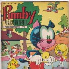 Tebeos: PUMBY : NUMERO 565 EL REINO AURIFERO, EDITORIAL VALENCIANA. Lote 289389478