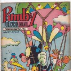 Tebeos: PUMBY : NUMERO 569 EL PLANETA ALUCINANTE, EDITORIAL VALENCIANA. Lote 289389918