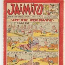 Tebeos: JAIMITO. Nº 468. VALENCIANA, 1958.(C/A101). Lote 289419693